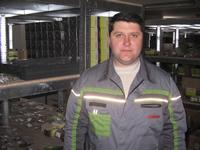 Кладовщик Кривохижа Сергей